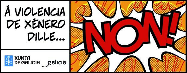 Á violencia de xénero dille...NON!