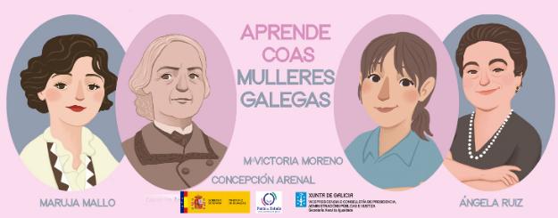 Aprende con las mujeres gallegas