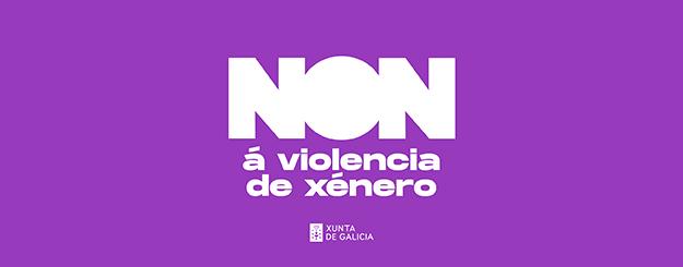 NON á violencia de xénero | 25 de novembro