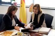 A secretaria xeral da Igualdade reúnese coa Asociación de Empresarios de Mediana e Pequena Empresa de Pontevedra