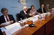 A secretaria xeral de Igualdade, Susana López Abella, indicou hoxe que o Goberno galego incluíu unha nova liña para incentivar a iniciativa empresarial de investigación e tecnolóxica, denominada ITEF (Investigación e Tecnolóxica en Feminino), no marco do Programa Emega.  Autor: Ana Varela