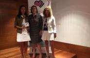 La secretaria general de Igualdad, Susana López Abella, y la Asociación de Mujeres en Igualdad de Burela presentaron esta línea de ayudas en el Ayuntamiento de Foz