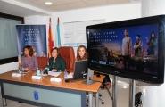 A secretaria xeral da Igualdade, Susana López Abella, e a delegada territorial, Marisol Díaz Mouteira, explicaron en rolda de prensa os detalles desta campaña de prevención e sensibilización