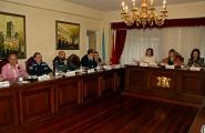 A secretaria xeral da Igualdade, Susana López Abella, participou hoxe na Mesa Local de Coordinación Interinstitucional contra a Violencia de Xénero do concello de Melide