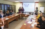 Susana López Abella participou esta mañá na I Xornada de formación en promoción da igualdade e prevención e loita contra a violencia de xénero