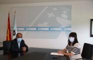 A conselleira de Emprego e Igualdade continúa con UGT os seus contactos cos axentes sociais galegos