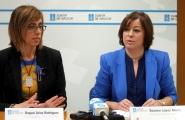 A secretaria xeral de Igualdade, Susana López Abella, e a delegada territorial da Xunta, Raquel Arias, presentaron hoxe en rolda de prensa a Resolución da Secretaría Xeral da Igualdade pola que se resolven as solicitudes de axudas e subvencións a entidades locais para a promoción da igualdade 2014