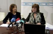 A secretaria xeral de Igualdade, Susana López Abella informou hoxe en rolda de prensa das axudas económicas ás vítimas da violencia de xénero  Autor: Ana Varela