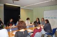 """A Secretaría Xeral da Igualdade reuniuse coa Rede Galega contra a Trata para informarlle do Proxecto Europeo """"Draw the line"""""""