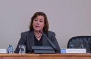 A secretaria xeral da Igualdade, Susana López Abella, na comisión parlamentaria