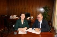 La secretaria general de Igualdade se reúne con el presidente de la Fegamp