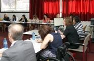 La secretaria general de la Igualdad, Susana López Abella, presidió esta mañana el pleno del Consejo Gallego de las Mujeres