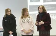 Susana López Abella asistiu hoxe a unha das sesións do curso de interpretación psicolóxica do debuxo infantil