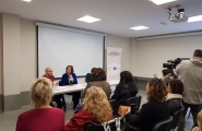 Susana López Abella participou na presentación dun programa de atención e promoción da autonomía afectivo sexual para persoas con discapacidade