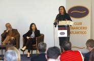 A secretaria xeral da Igualdade, Susana López Abella, no acto