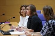 La Secretaria general de la Igualdad, Susana López Abella inauguró esta mañana la Jornada de formación para el personal de los Centros de Información a las Mujeres