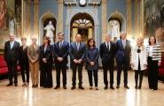 O vicepresidente da Xunta Alfonso Rueda participou na inauguración do Congreso do Observatorio contra a Violencia de Xénero xunto ao presidente do Consello Xeral do Poder Xudicial, a vicepresidenta do Goberno, a ministra de Xustiza e o ministro de Interior