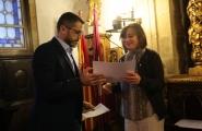 A secretaria xeral da Igualdade, Susana López Abella, e a secretaria xeral de Emprego, Covadonga Toca, participaron hoxe no acto de entrega dos premios do XVI Concurso de ideas empresariais innovadoras da USC