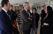 El vicepresidente de la Xunta, Alfonso Rueda, acompañado de la secretaria xeral da Igualdade, Susana López Abella, así lo anunció esta mañana en Cervo