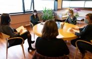 A Xunta aborda coa Asociación de Mulleres do Sector Público liñas de colaboración para promover a igualdade na Administración