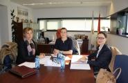 A Secretaria Xeral da Igualdade mantén unha xuntanza con Mulleres de Seu de CLUN