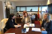 La Secretaria Xeral de Igualdade mantuvo una juntanza con la alcaldesa de Betanzos con la finalidad de abrir nuevas líneas de colaboración, entre ellas la posibilidad de la puesta en marcha de un CIM