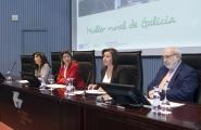 A conselleira do Medio Rural e do Mar, Rosa Quintana,e a secretaria xeral da Igualdade, Susana López Abella, durante a súa intervención Autor: Xoán Crespo