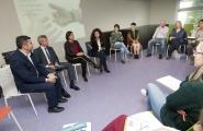O vicepresidente da Xunta, Alfonso Rueda, inaugurou hoxe en Santiago o Curso para o Voluntariado en Violencia de Xénero  Autor: Ana Varela