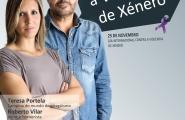 """Cartel """"Todos contra a Violencia de Xénero"""""""
