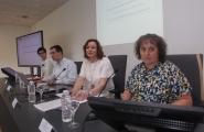 La secretaria general de la Igualdad, Susana López Abella, presentó hoy en Pontevedra la orden de ayudas del Gobierno gallego