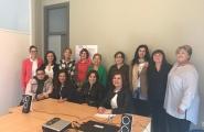 A secretaria xeral de Igualdade participou na inauguración dos talleres grupais organizados pola Asociación de mulleres con discapacidade de Galicia