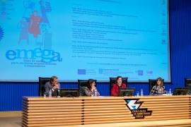 La secretaria general de la Igualdad, Susana López Abella, inauguró hoy el II Encuentro de emprendedoras del Programa Emega.