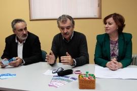 Susana López Abella na visita ao CIM de Caldas