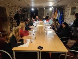 La Xunta participa en la constitución de la mesa local de coordinación interinstitucional contra la violencia de género de Santa Comba