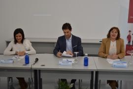 La secretaria general de la Igualdad, Susana López Abella, visitó hoy la Asociación de Empresarios de Mos, que recibió desde 2016 unos 280.000 euros al amparo de estas ayudas para contratar a una treintena de mujeres