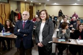 """A secretaria xeral da Igualdade, Susana López Abella, participou hoxe na inauguración do congreso """"Medios de comunicación e igualdade: unha mirada crítica ao tratamento da violencia machista"""""""