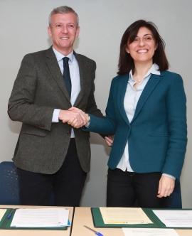 Firma dun convenio para facilitar o acceso ao alugueiro das mulleres vítimas de violencia de xénero