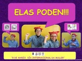 Cartel del CEE Nosa Señora do Rosario de A Coruña