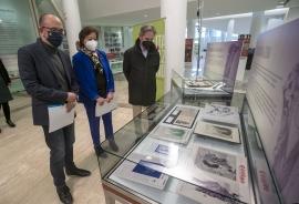 A Xunta abre ao público en Santiago a exposición homenaxe á ilustradora Lolita Díaz Baliño con pezas orixinais da autora