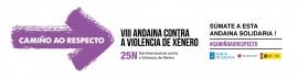 A Xunta invita á cidadanía a sumarse á andaina virtual 'Camiño ao respecto' e amosar o seu rexeitamento á violencia de xénero