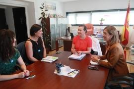 La secretaria general de la Igualdad se reúne con el Colegio de Educadoras y Educadores Sociales de Galicia