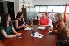 A secretaria xeral da Igualdade mantén unha xuntanza co Colexio de Educadoras e Educadores Sociais de Galicia