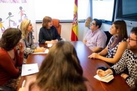 A Xunta mantén unha reunión con activistas LGTBI do Salvador que están de visita na nosa comunidade