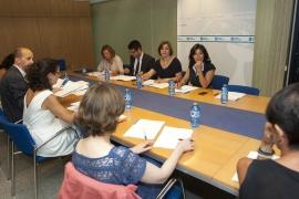 A secretaria xeral de Igualdade, Susana López Abella, presidiu hoxe o Pleno da Unidade da Muller e Ciencia celebrado en Santiago  Autor: Xoán Crespo