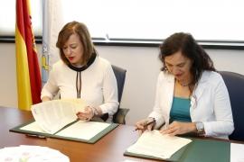 A secretaria xeral da Igualdade, Susana López Abella, asinou hoxe o convenio de colaboración para a atención psicolóxica das mulleres vítimas de violencia de xénero