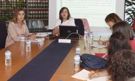 La secretaria general de la Igualdad mantuvo hoy un encuentro con asociaciones de mujeres, representantes de los CIMs y personal de Igualdad de la Delegación de Vigo