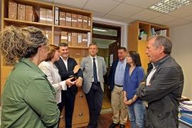 O vicepresidente da Xunta, Alfonso Rueda, visitou hoxe o CIM de Boqueixón