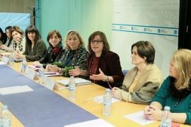 A secretaria xeral da Igualdade reúnese con representantes da Asociación Nacional de Mulleres da Pesca