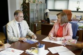 A secretaria xeral da Igualdade, Susana López Abella, mantivo unha xuntanza co novo responsable institucional do Programa Woman Emprende