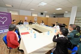 A secretaria xeral da Igualdade, Susana López Abella, asistiu hoxe á constitución da mesa local de coordinación interinstitucional contra a violencia de xénero do concello de Boqueixón
